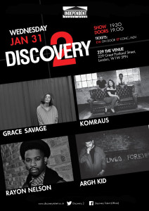 Discovery 2 Jan 18